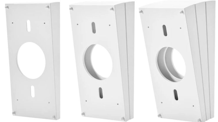 The three stackable wedges within a Ring wedge kit, with the 5% (single wedge) on the left, the 10% (double wedge) in the middle and the 15% (triple wedge) on the right.