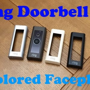YouTube thumbnail for the Ring Doorbell Pro Faceplate video