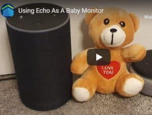 YouTube video baby monitor thumbnail