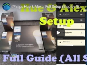 Philips Hue & Alexa YouTube video thumbnail