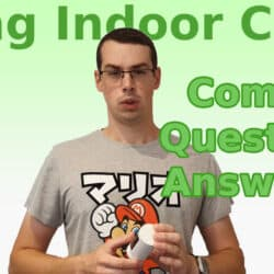YouTube thumbnail for my 'Ring Indoor Cam Q&A' video.