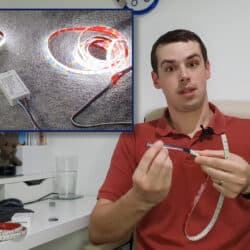 YouTube thumbnail showing how to build your own DIY ZigBee light strip