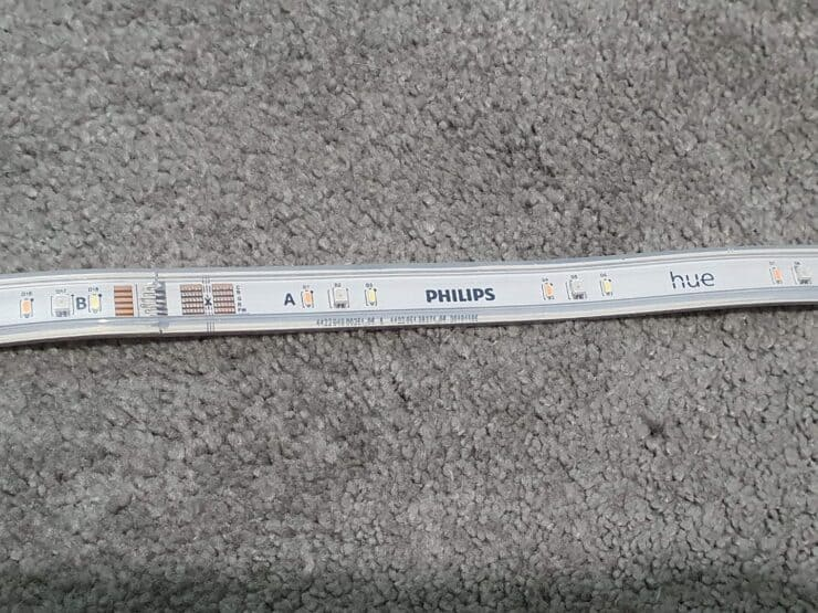 Diodes on the Philips Hue Lightstrip V4