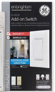 GE Enbrighten Add on Switch box